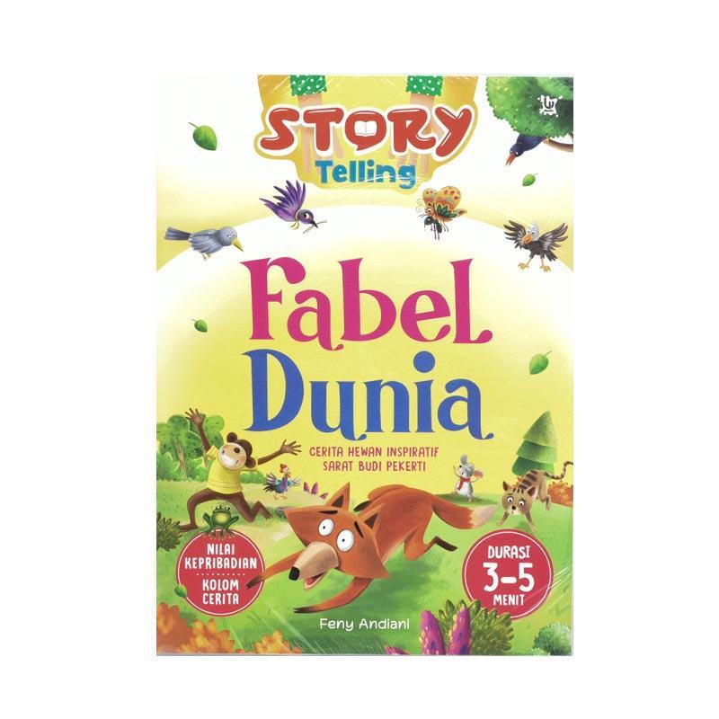 WAHYU Media Story Telling Fabel Dunia Buku Edukasi