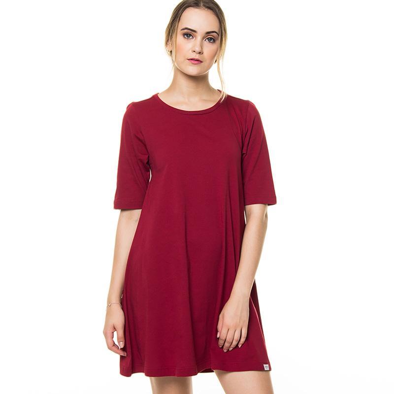 Jual Lee Cooper Bersh Women S Mini Dress Maroon Online Oktober 2020 Blibli Com