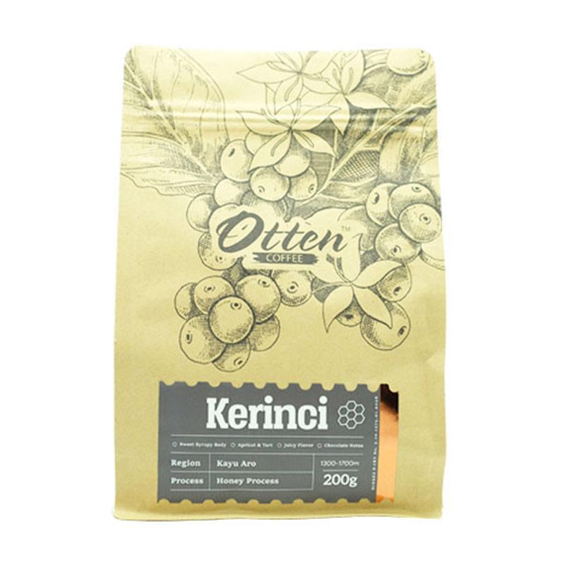 Otten Coffee Arabica Kerinci Kayu Aro Honey Process Bubuk Kopi [200 g]