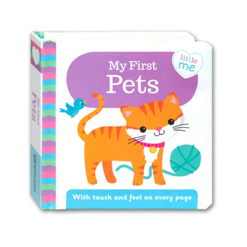 Igloobook Little Me My First Pets Board Book With Touch And Feel On Every Page