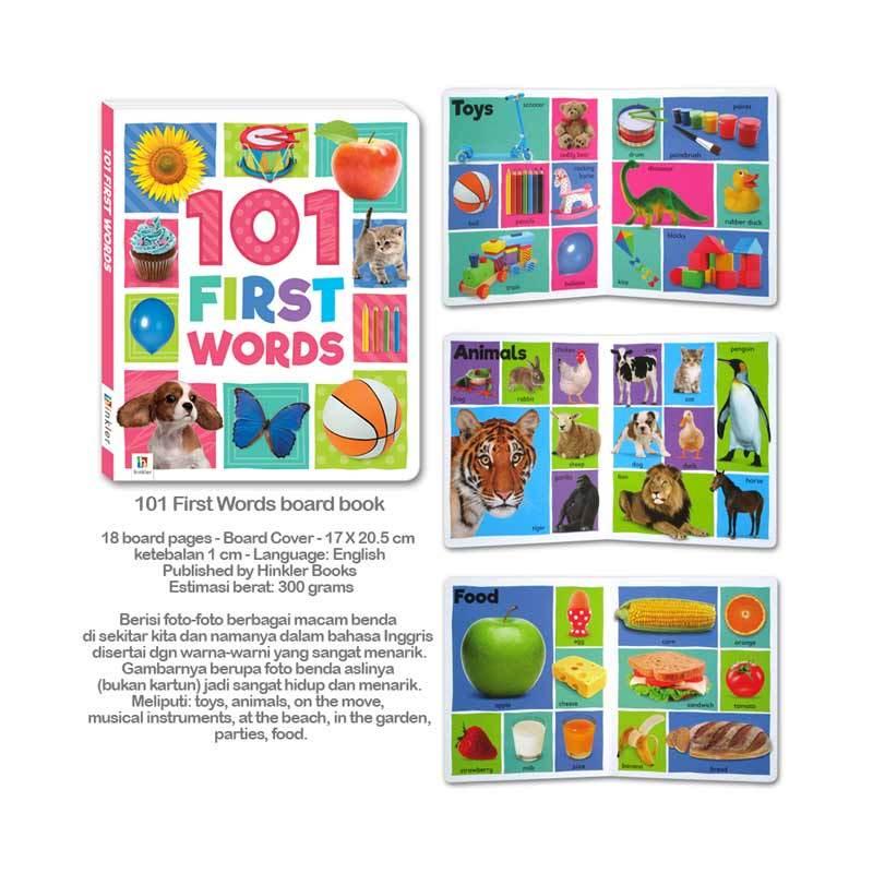 Jual 101 First Words Board Book Murah Februari 2020 Blibli Com