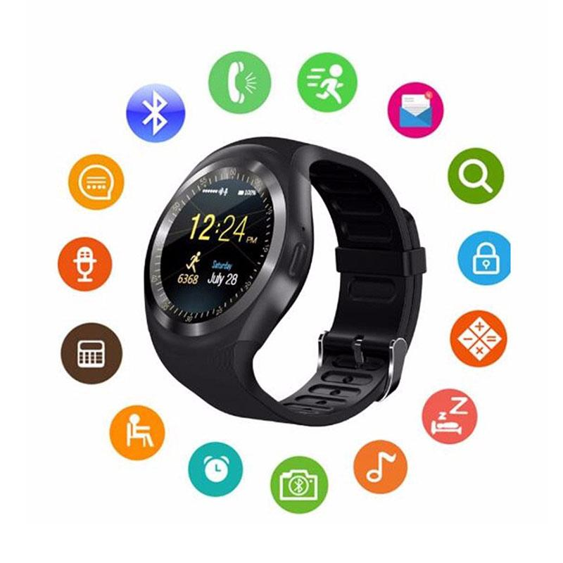 Jual IIT Bluetooth Y1 Smart Watch Relogio Android Smart Watch with Phone  Call Function Online Agustus 2020 | Blibli.com