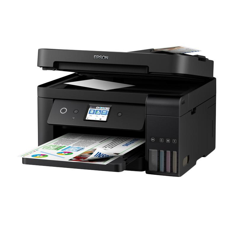Jual Epson L6190 Wi Fi All In One Ink Tank Printer With Adf Print Scan Copy Wifi Fax Online Februari 2021 Blibli