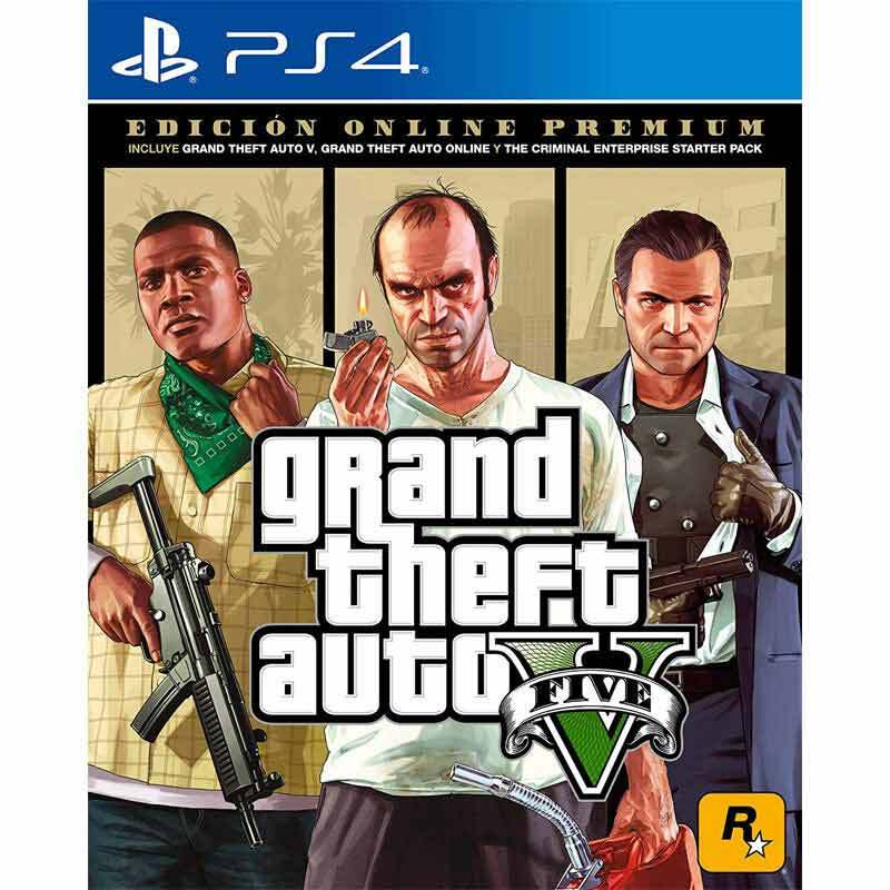 Jual Sony Ps4 Grand Theft Auto V Premium Online Edition Dvd Game Reg 3 Online Desember 2020 Blibli