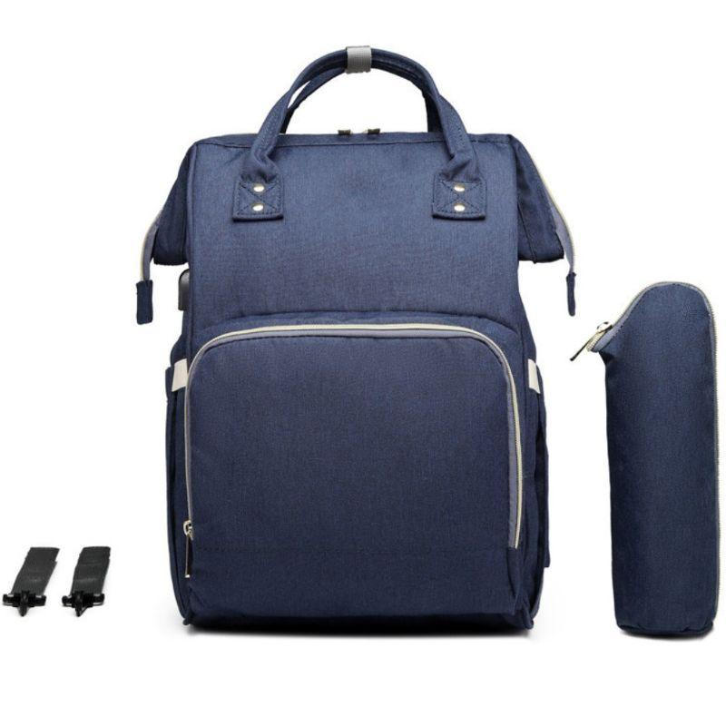 Wet Dry Bag Hanging Wet or Dry Clothes Storage Bag Baby Nappy Organizer Bag 7# M+L Reusable Waterproof Zipper Diaper Bag