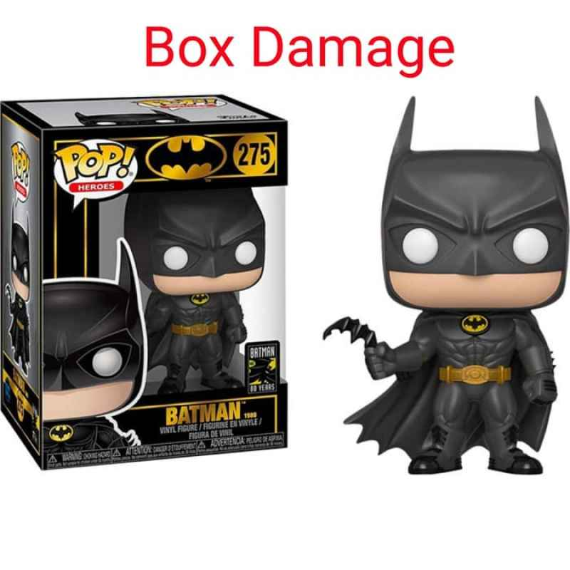 Jual Funko Pop Heroes Batman 1989 Batman 80th Anniversary Damage Action Figure Online November 2020 Blibli Com
