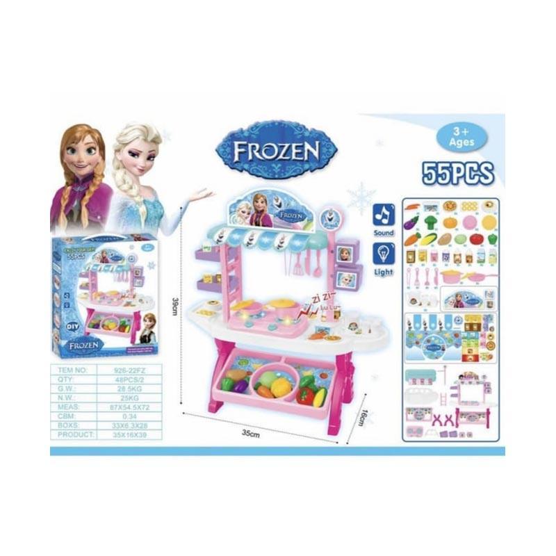 Jual Frozen Kitchen Set Frozen Masak Masakan Mainan Anak Online Oktober 2020 Blibli Com