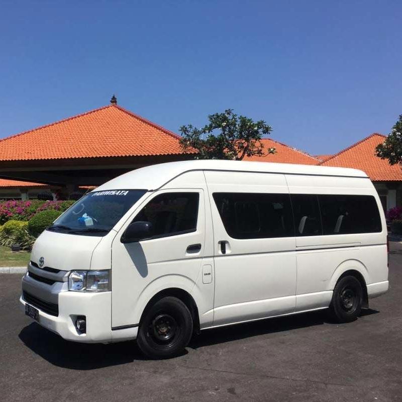 Jual Nice Holiday Bali Travel Hiace Long Elf Rental Mobil Car Driver Online Februari 2021 Blibli