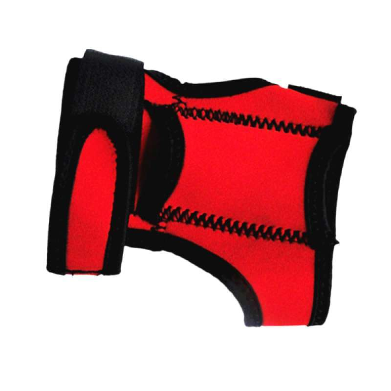 Outdoor Scuba Diving Torch Flashlight Holder Soft Hand Arm Mount Red