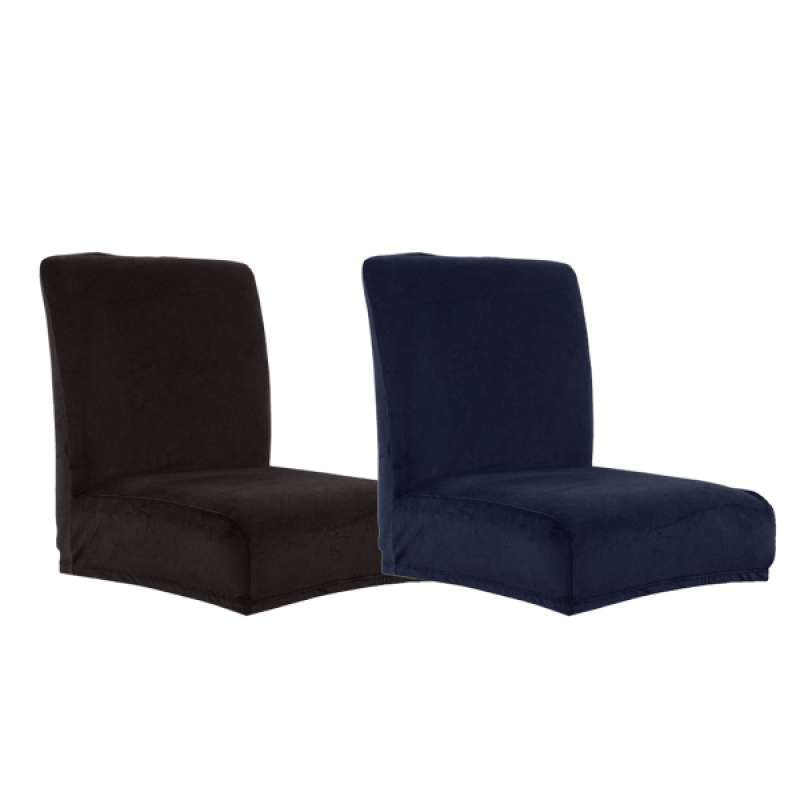 Jual 2pcs Dining Chair Seat Covers Stretch Velvet Dining Chairs Seat Cover Removable Washable For Kitchen Dining Room High Chairs Online Desember 2020 Blibli