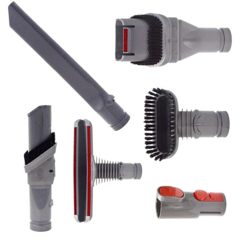 Jual Universal Fittings Dyson Vacuum Cleaner Kits Part Connector Brush Set Of 6 Online November 2020 Blibli