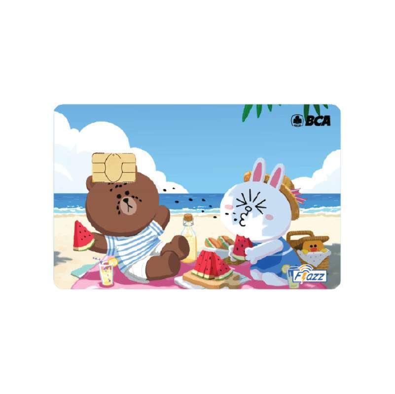 Kartu Flazz Bca Gen 2 Terbaru Kartun Anime Line Cony And Brown Pantai 2 Kartun Kartu Etoll E Toll Emoney E Money Winlycollections 1 Sisi Saldo Nol Terbaru Juli 2021 Harga Murah Kualitas Terjamin Blibli