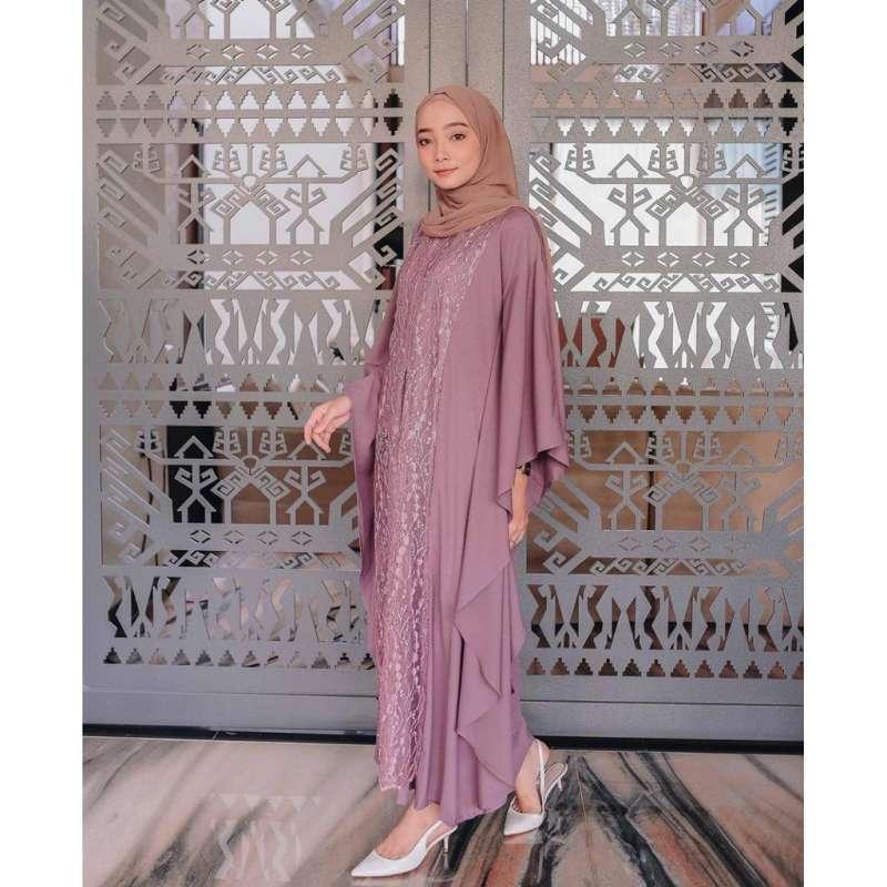 Jual Baju Gamis Pesta Wanita Muslim Murah Aurel Online Maret 2021 Blibli