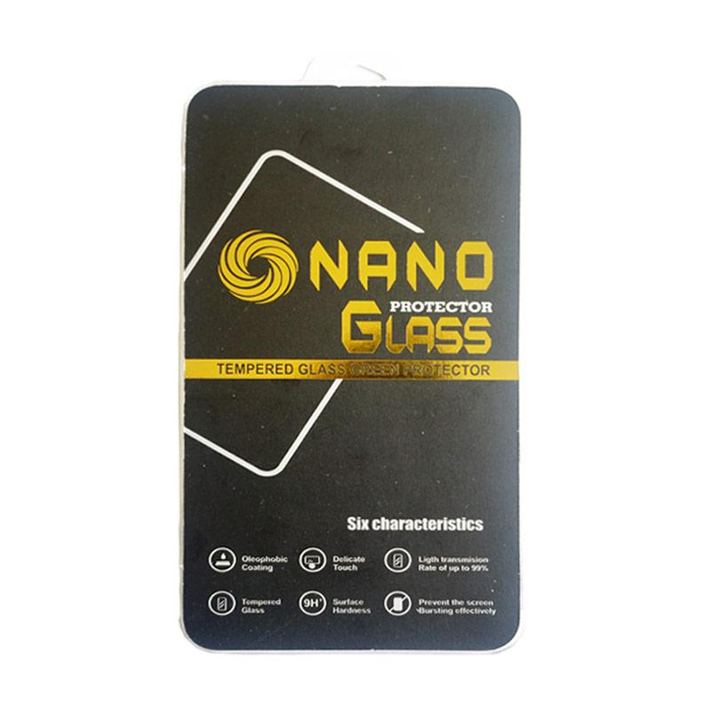 Nano Tempered Glass Screen Protector for Smartphone Universal 5.5 Inch - Clear