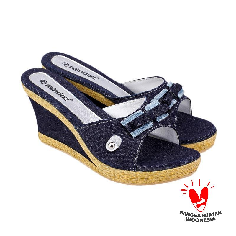 Raindoz Woman Wedges Adeline RIG 004 - Blue