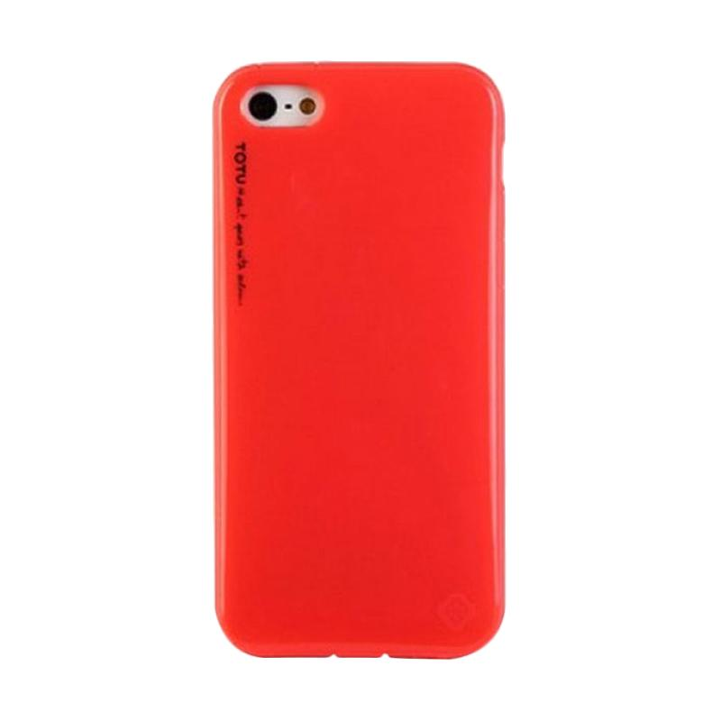 Totu Ice-Cream Casing for iPhone 5C - Red