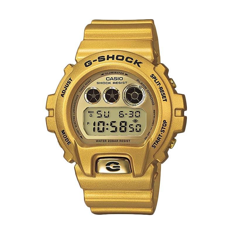 Casio G-Shock DW-6900GD-9 Original Jam Tangan Pria - Gold
