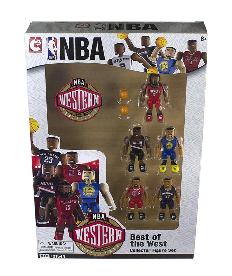 NBA C3 Figure 5 Best of West Pack Lego Style Mainan Blok dan Puzzle