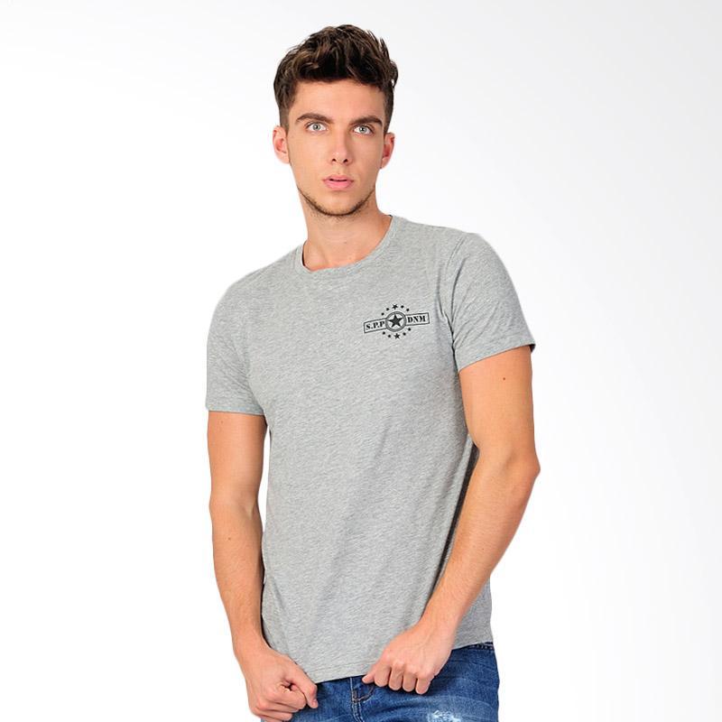 SJO & SIMPAPLY SPP DNM Men's T-Shirt Kaos Pria - Grey