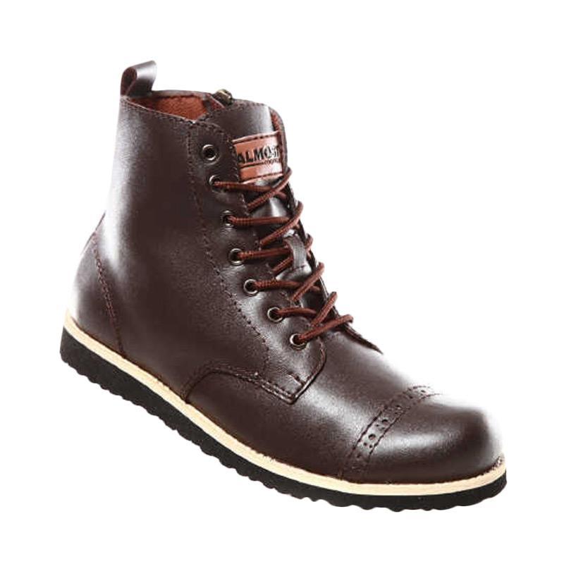 harga Handmade Almost Magnum Sepatu Boot - Brown Blibli.com