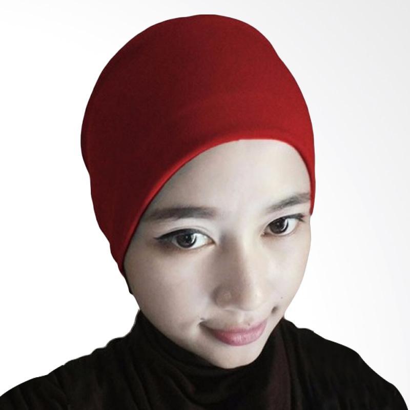 Milyarda Hijab Arab Ciput - Merah