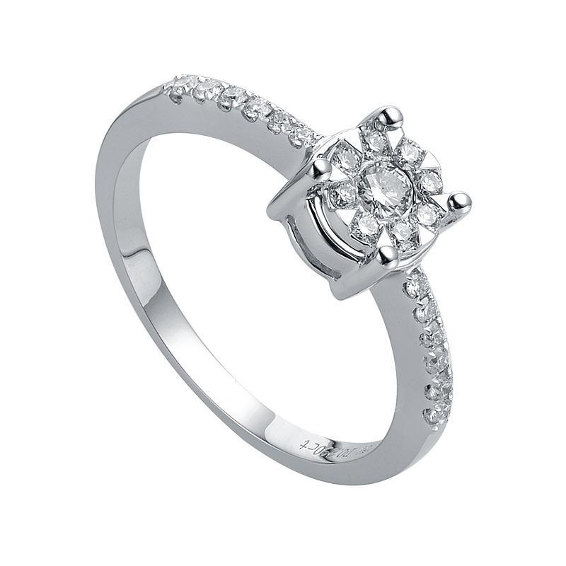 My Jewel Lotus WR4070 Diamond Ring