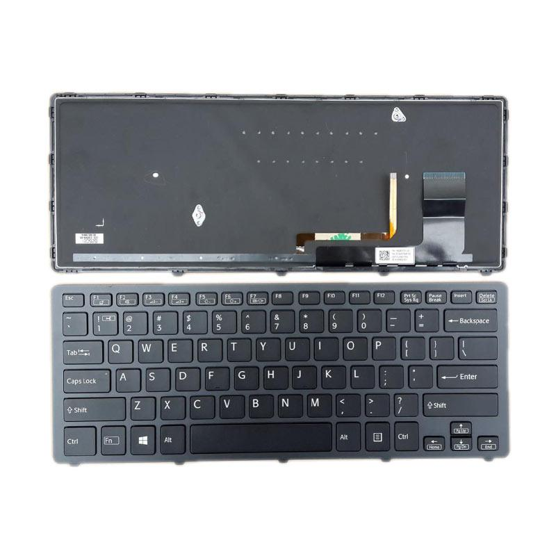 harga SONY Keyboard for SONY SVF14N - Black Blibli.com