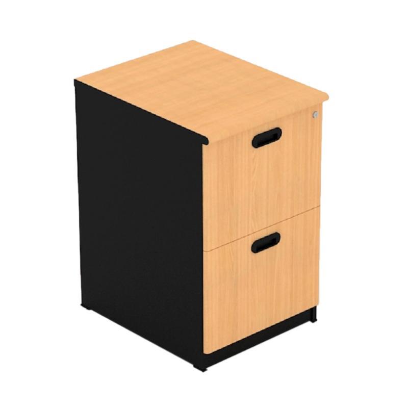 UNO Classic Filing Cabinet - Beech [2 Laci] UFL 1232