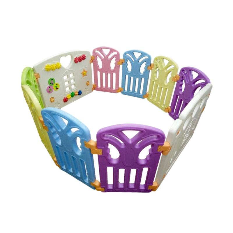 Coby Haus Fence 8 + 2 Panel Butterfly Pagar Pengaman Bayi