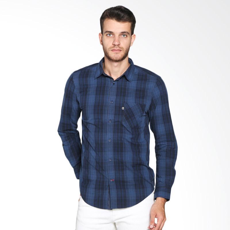 Greenlight Men 234021711 Shirt - Blue