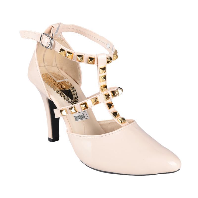 Rena Sepatu SN-229 High Heels Wanita - Cream
