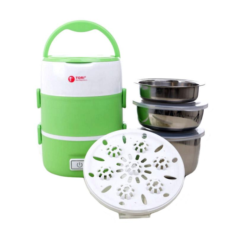 Daily Deals - Tori TLB-111 Lunch Box Rice Cooker - Hijau
