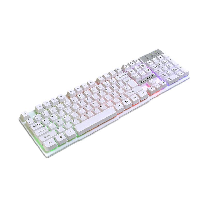 Warwolf K-1 Keyboard Gaming - Putih