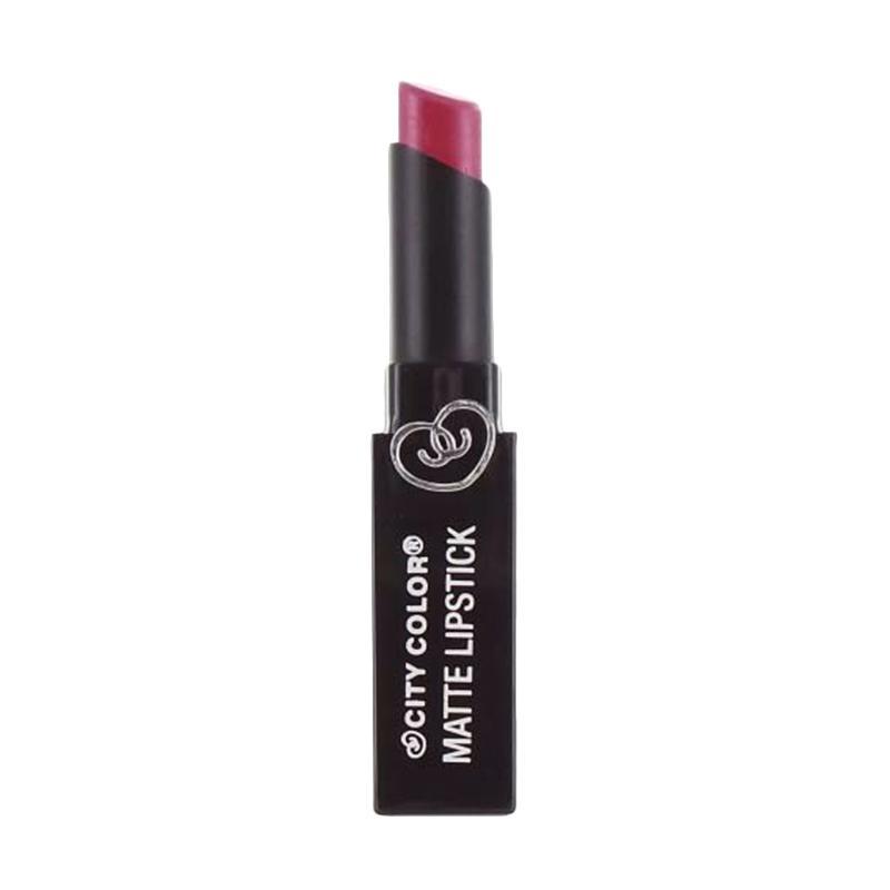 City Color Matte Lipstick - Fig