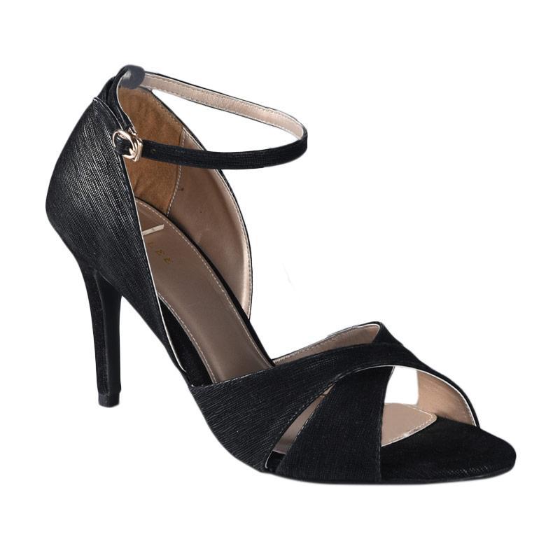 harga Lina Lee Sky Sepatu High Heels -  Hitam Blibli.com
