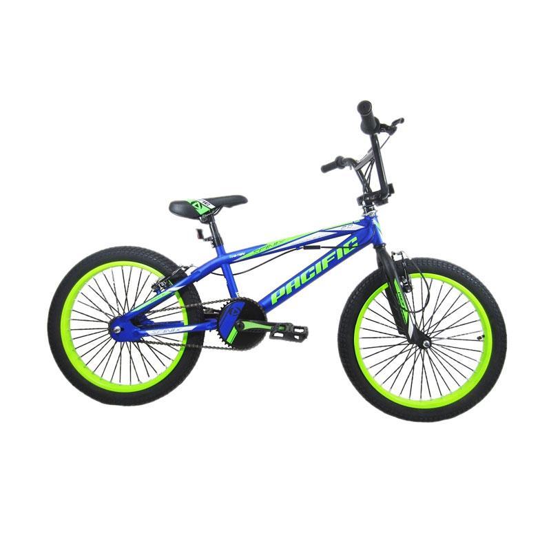harga Pacific Spinix 2.0 Sepeda BMX - Biru Hijau [20 Inch] Blibli.com