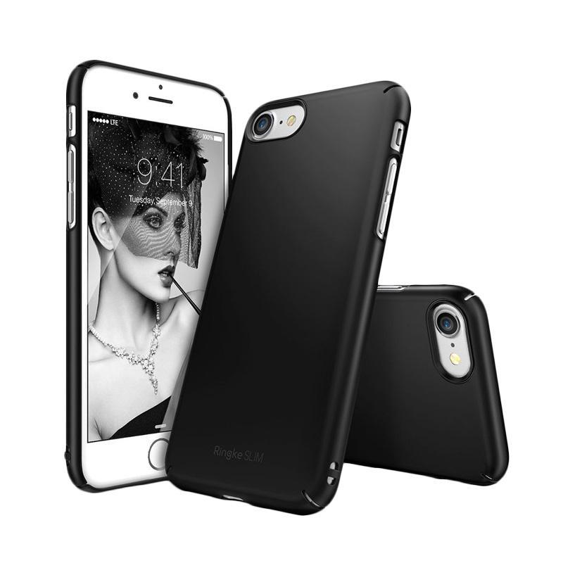 Rearth Ringke Slim Casing for iPhone 7 - Black
