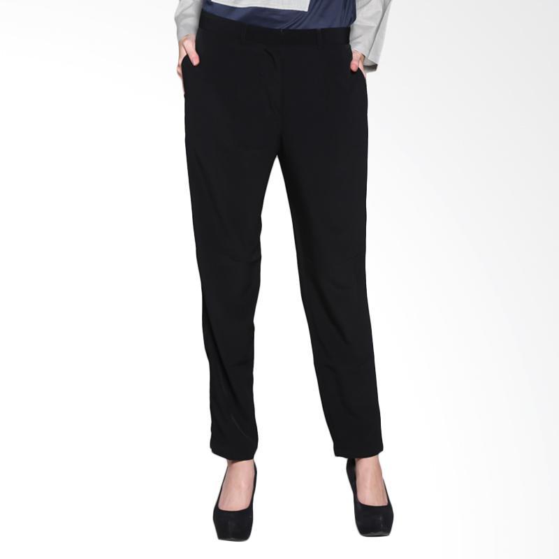 I.SHA Alima Pants ILP-013.16 Celana Muslim - Black