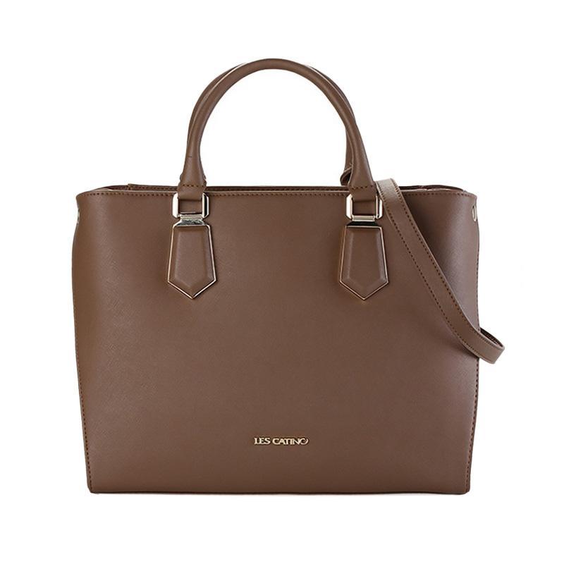 Les Catino Francis Hand Bag - Toffee [L]