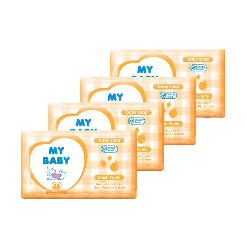 My Baby Bar Soap Fresh Fruity [100 g/4 pcs]