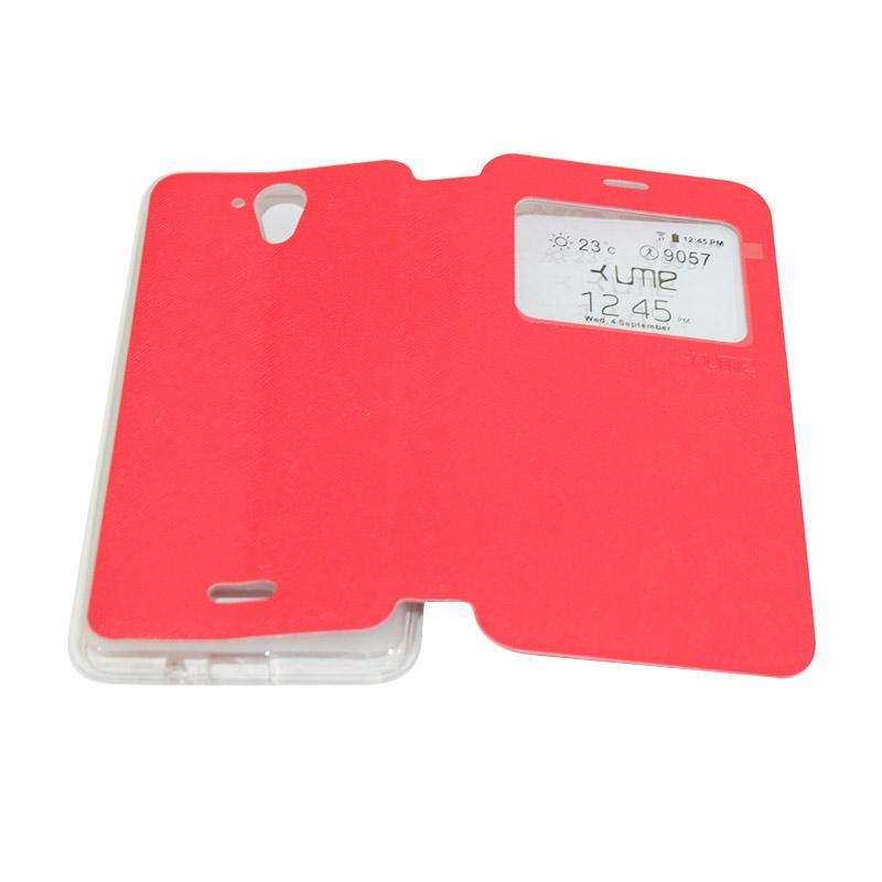 Jual Ume Flip Cover Casing for Hisense F20 / Pureshot Flipshell / Leather Case / Sarung