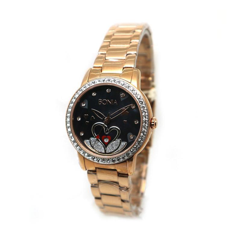 Bonia BNB10107-2637S Jam Tangan Wanita - Rose Gold