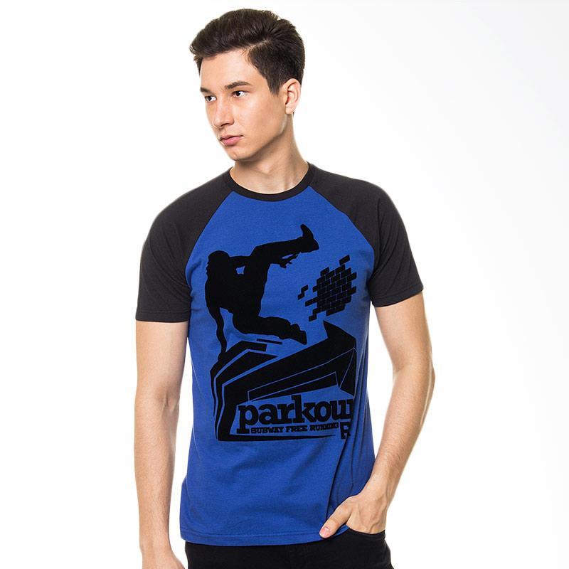 FREERIDE Blue Parkour Subway Tee Kaos Pria Extra diskon 7% setiap hari Extra diskon 5% setiap hari Citibank – lebih hemat 10%