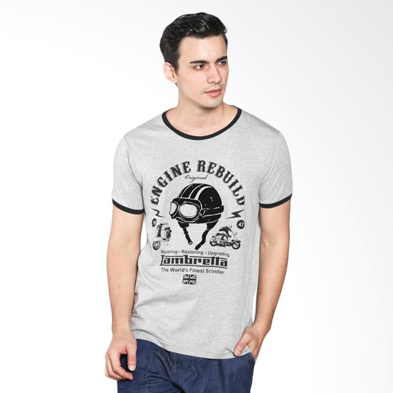 H&R Print Vespa 17101-7022N T-Shirt Pria - Misty Extra diskon 7% setiap hari Extra diskon 5% setiap hari Citibank – lebih hemat 10%