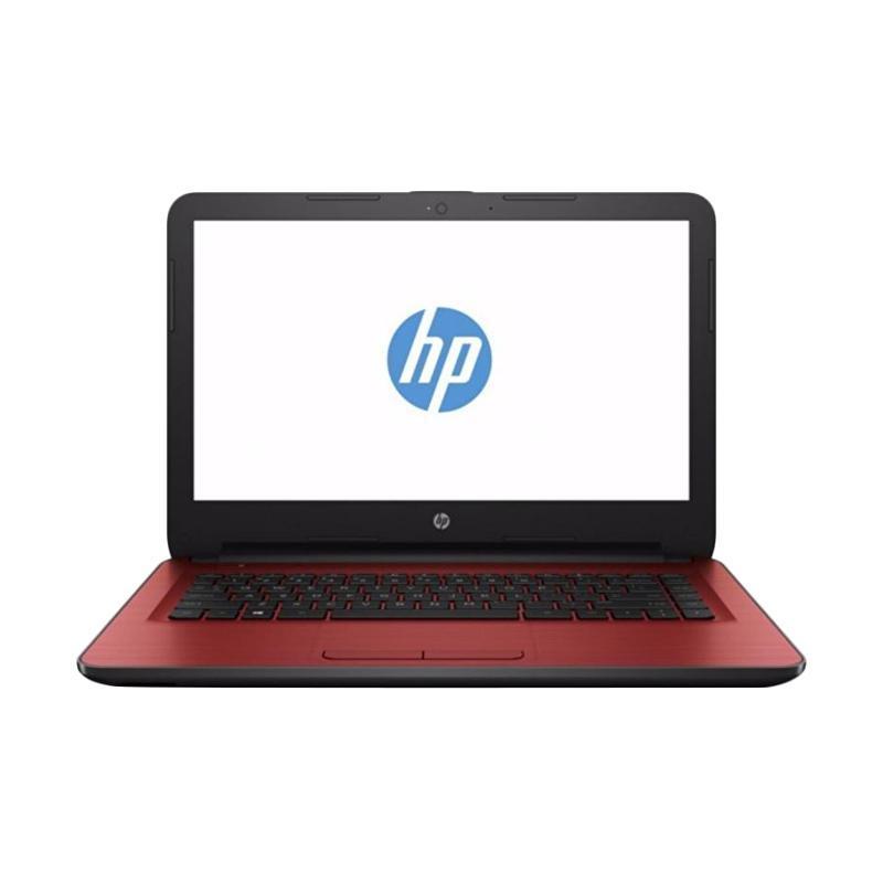 harga HP 14-am505TU 1AD46PA Notebook - Red [14 Inch/i3-6006U/4GB/UMA] Blibli.com
