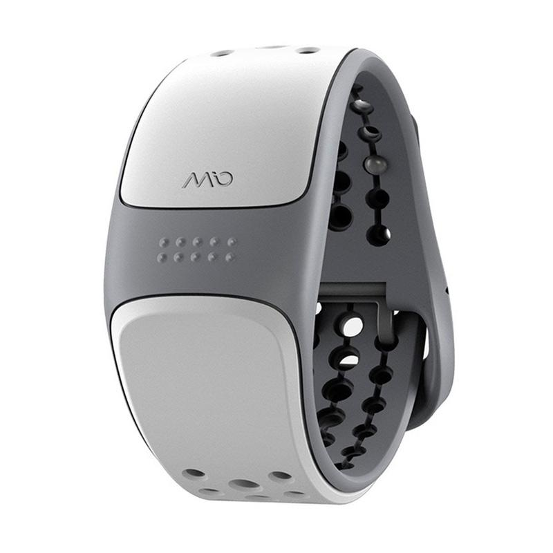 MIO Link 56P Heart Rate Wristband - White
