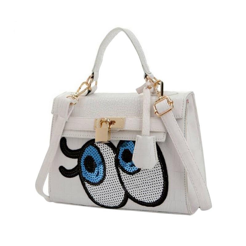 Annies Fashion Eye Tas Wanita - White
