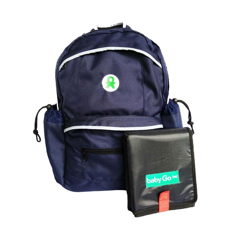 BabyGo Inc Metro Backpack - Navy Blue