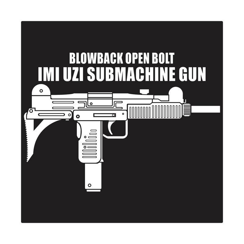 harga Kyle UZI Submachine Gun Cutting Sticker Blibli.com