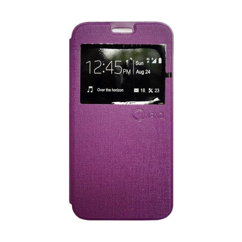 harga Nano Flip Cover Casing for Xiaomi Redmi Mi4i - Ungu Blibli.com